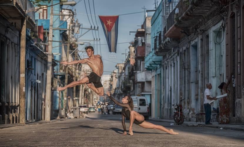 La destreza de los bailarines cubanos en el lente de fotógrafos del mundo