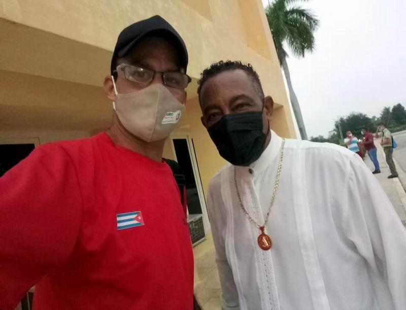 Cándido Fabré y Roberto Mesa