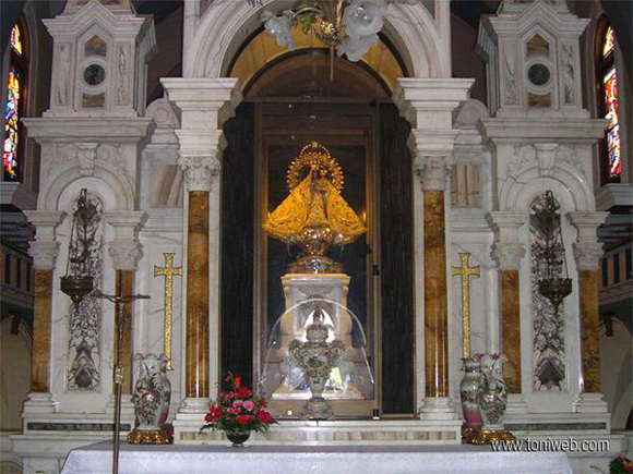El Santuario de la Virgen del Cobre