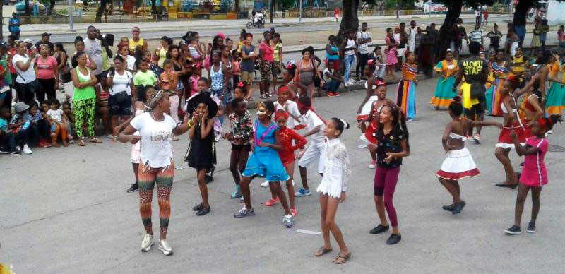 Clase de Danza con Niños.