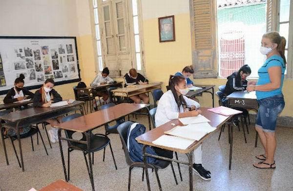 Reinician este lunes en Sancti Spíritus actividades docentes presenciales