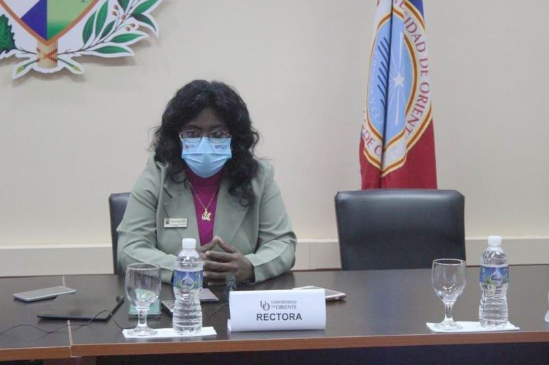Doctora Diana Sedal Yanes, Rectora de la Universidad de Oriente
