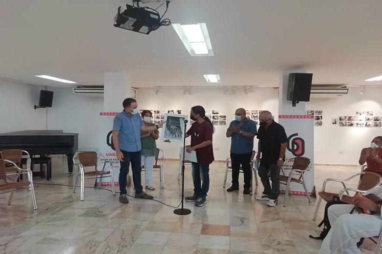 Unión de Escritores en Cuba entrega Premios David 2021