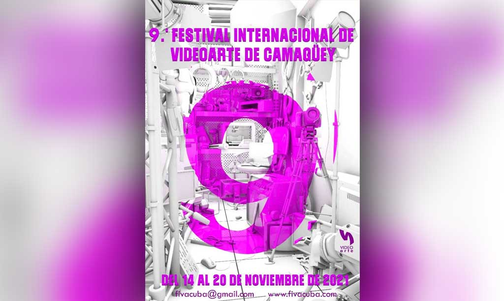 The International Video Art Festival in Camagüey to be hold in November