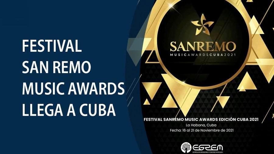 Festival San Remo Music Awards, por primera vez en Cuba