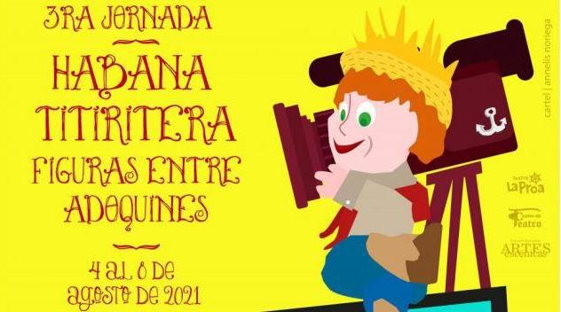 Habana Titiritera tercera edición en el 2021. Foto: Tomada de Internet