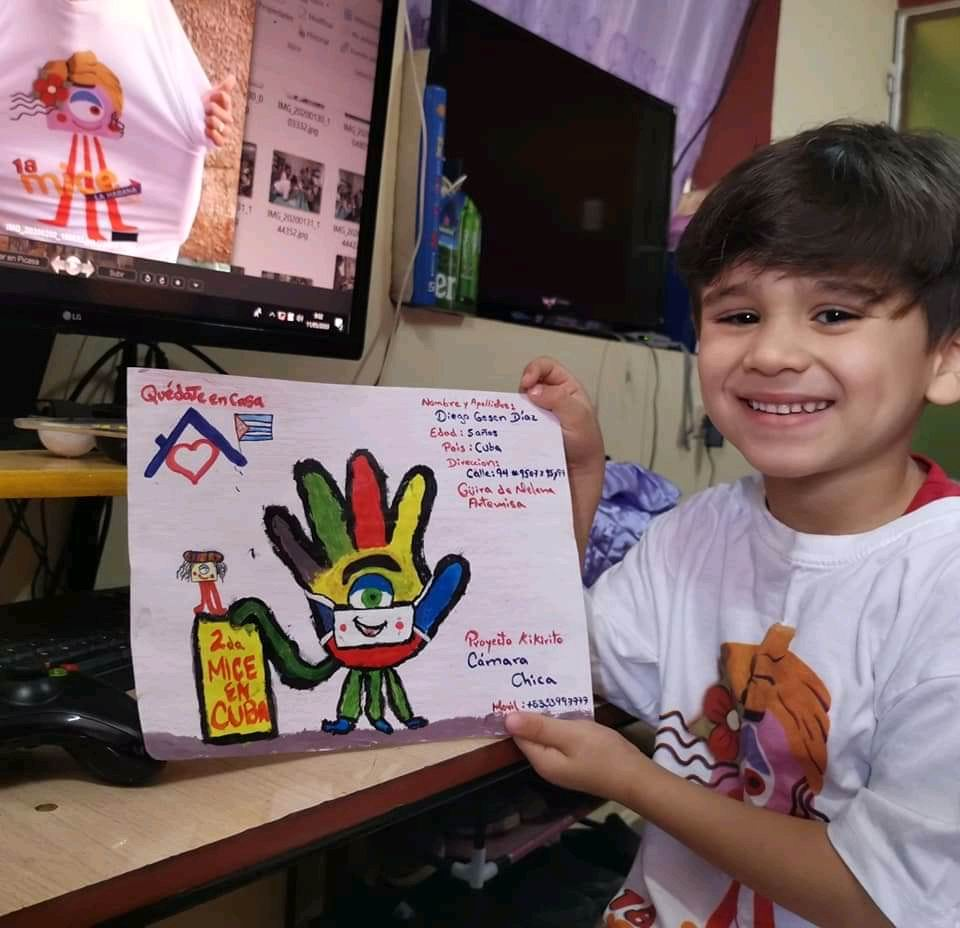 Refleja proyecto infantil impacto de la COVID-19 en Artemisa