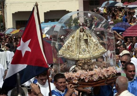 La Virgen del Cobre en Madruga. Foto: Ismael Francisco