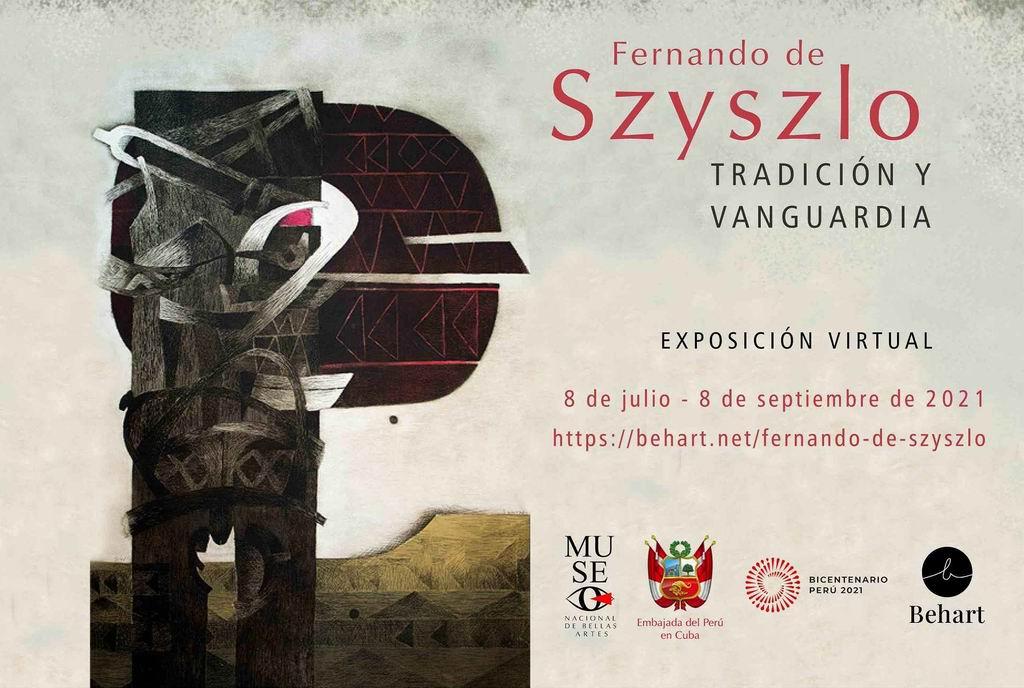 Exhiben muestra online de pintor peruano en el Museo Nacional de Bellas Artes