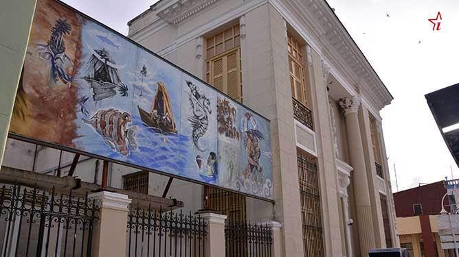 Pinturas murales, nuevo rostro para Ciego de Ávila