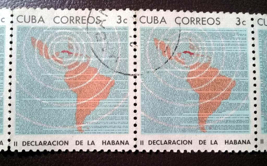 Toda una Declaración en los sellos