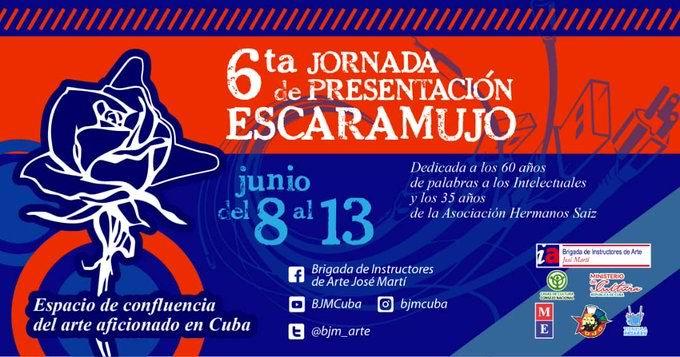 Comenzó VI edición del Concurso Escaramujo