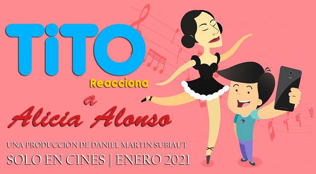 "Llega a salas de cine ""Tito reacciona a Alicia Alonso"" (+Audio)"