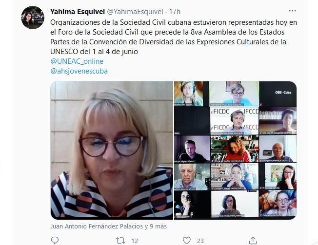 Participa Cuba en Foro de la Sociedad Civil sobre Diversidad de las Expresiones Culturales