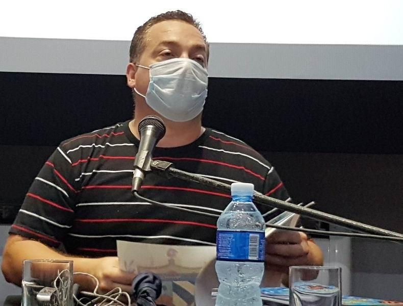 Director del Centro Provincial Libro y Literatura, Yunielkis Naranjo Guerra