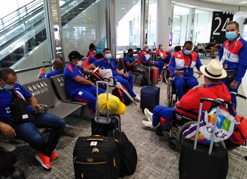Arribarán a la Patria, segundo grupo de la delegación paralímpica cubana