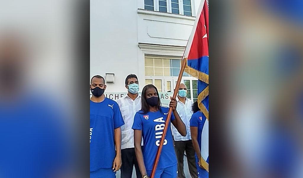 Abanderada delegación cubana a Mundial de Atletismo para Sordos