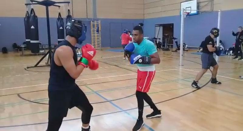 Finalizan con éxito boxeadores entrenamientos en Alemania (+Audio)