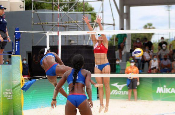 Cuba vs. México hoy por oro y boleto olímpico en voleibol de playa