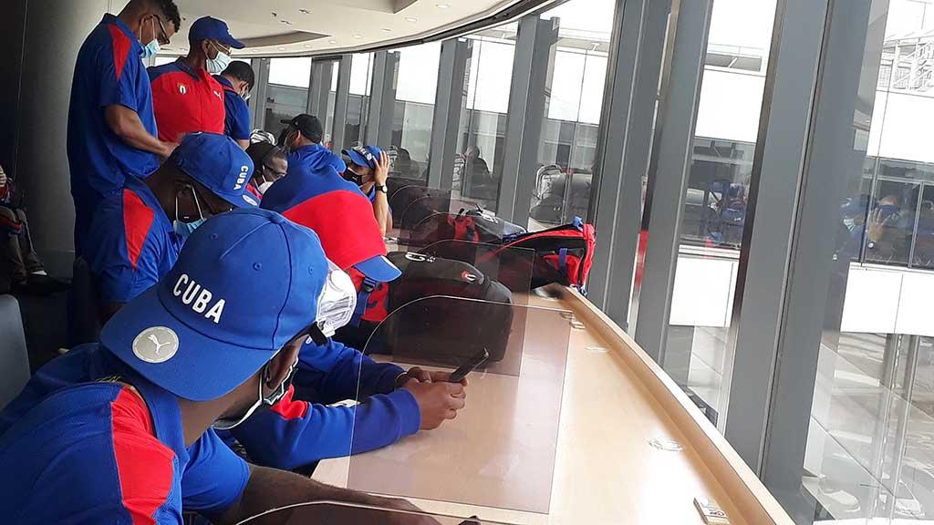 Avanzada atlética cubana ya está en Tokio