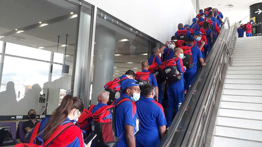 Avanzada atlética cubana ya está en Tokio (+Audio)