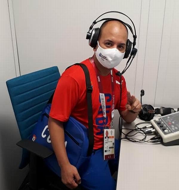 Dulier Reyes hizo vibrar a los cubanos que siguieron la actuación de Mijaín López a través de Radio Rebelde