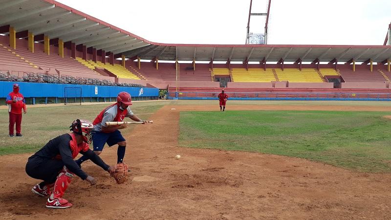 Preselección cubana comenzó sus entrenamientos