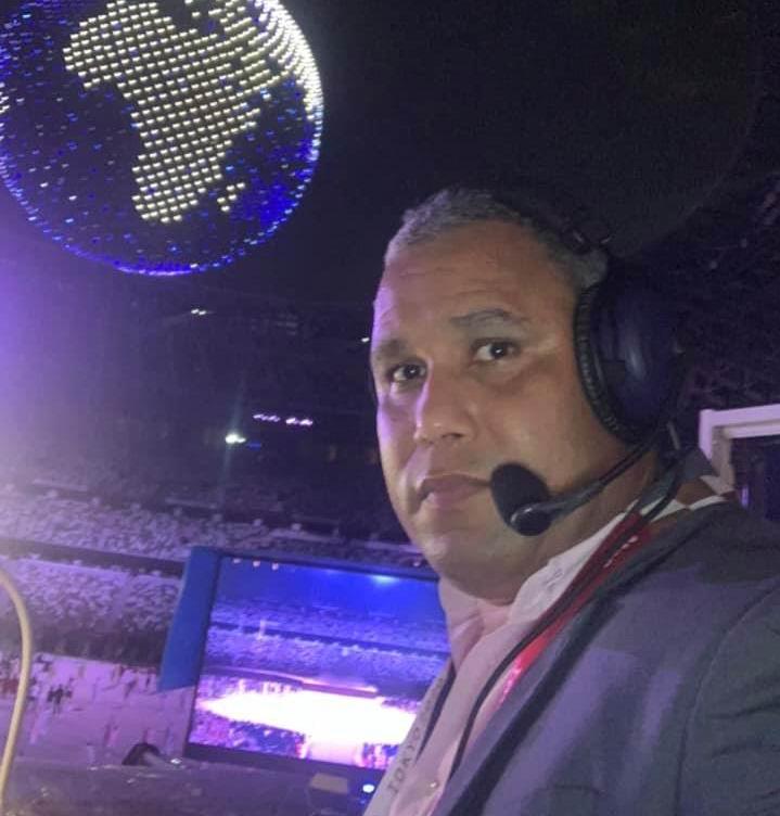Evyan Guerra, quien describió esta hazaña para la televisión cubana le agradece a Mijaín ser parte de su historia