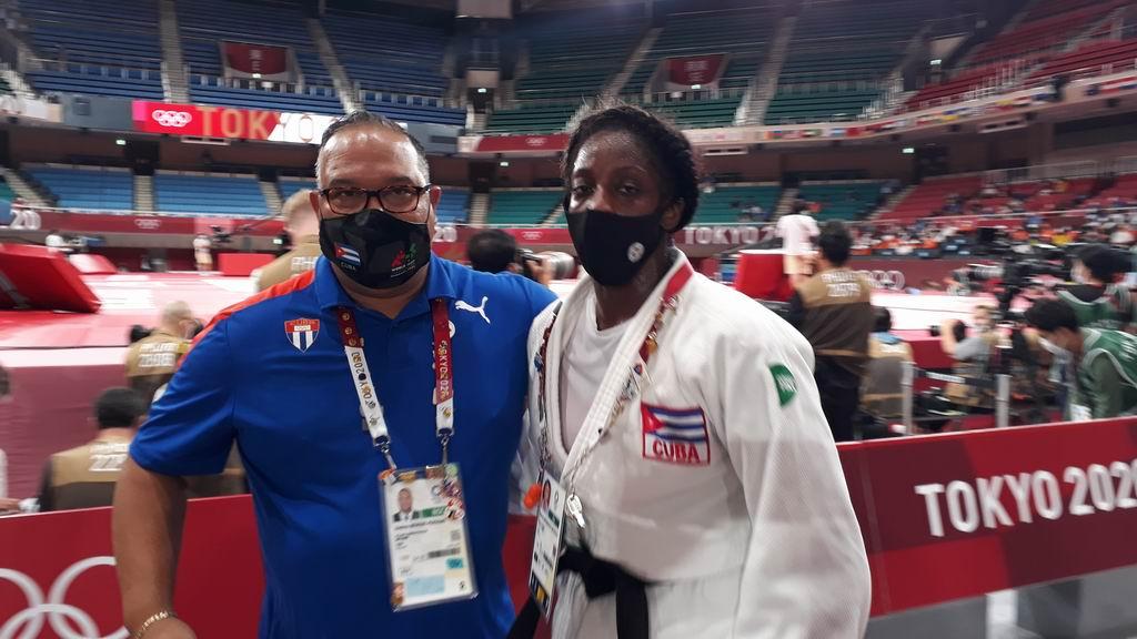 La judoca Kaliema Antomarchi finalizó en el quinto puesto en la división de los 78 Kg