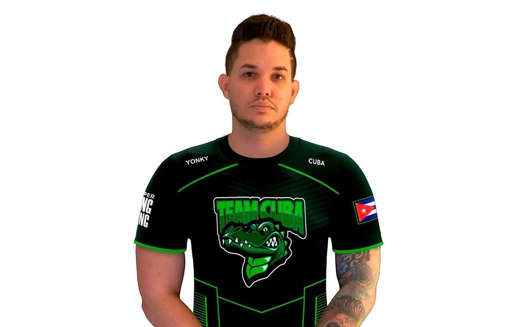 """Javier """"Mr Yonki"""" García García, capitán del """"Team Cuba"""