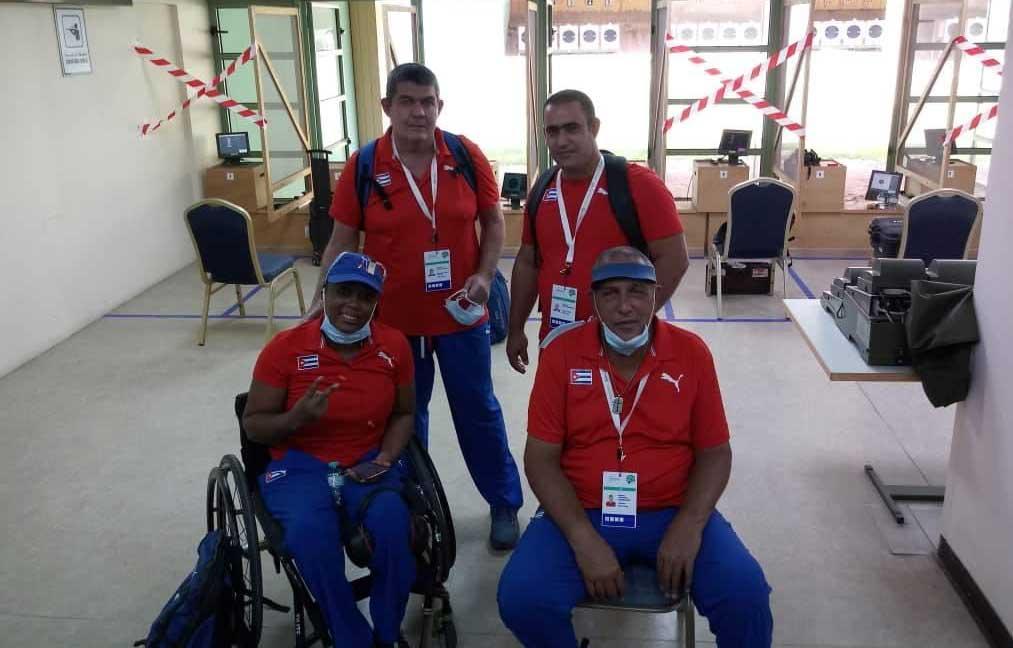 Quedaron fuera del podio paratiradores cubanos en apertura de Copa del Mundo