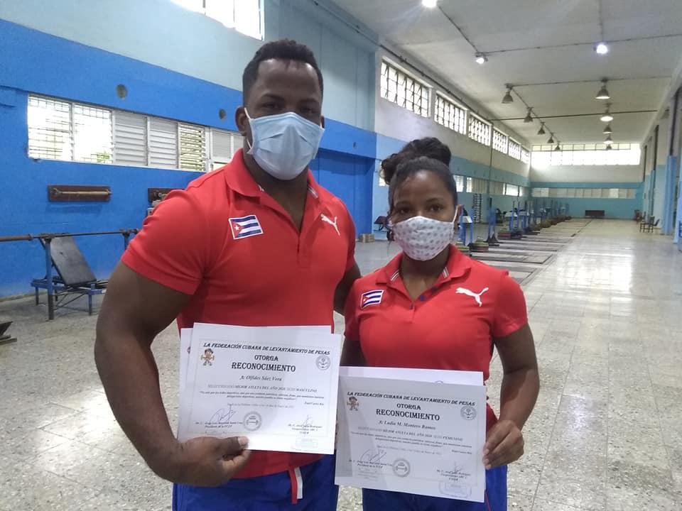 Seleccionados mejores pesistas del año 2020 en Cuba