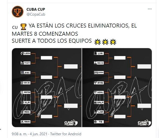 esports: Comienza la Cuba Cup de Clash Of Clans