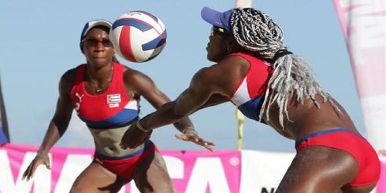 Cuban duos for Olympic ticket in beach volleyball