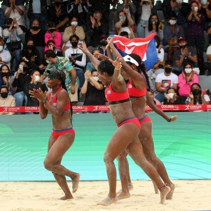 Cuba saca pasaje a Tokio en el Voleibol de Playa