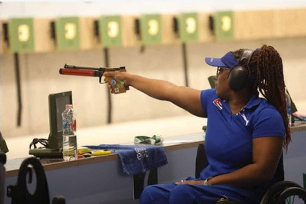 Entre los 16 atletas que tienen el boleto seguro a los Paralímpicos de la capital nipona se encuentra la paratiradora Yenigladys Suárez.