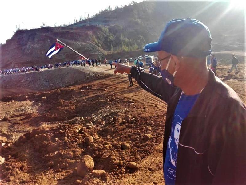 Ingeniero Carlos Luis Abreu Junco, Director General de la Empresa constructora