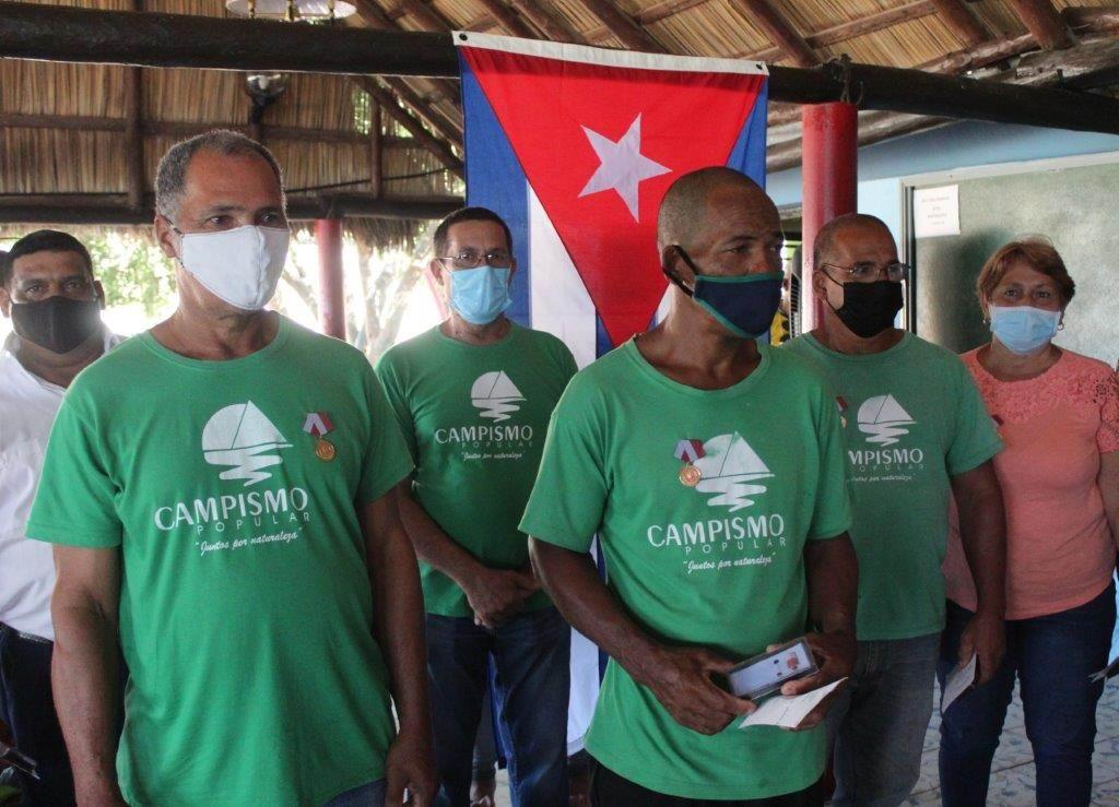 Conmemorado en Santiago de Cuba el Aniversario 40 del Campismo Popular (+Audio)