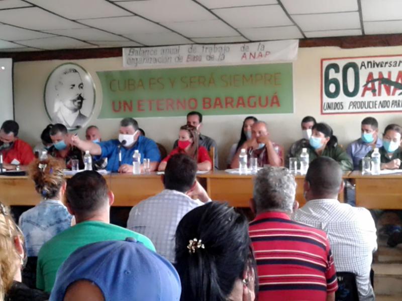 En Audio: Inició por Cienfuegos balance anual del campesinado cubano