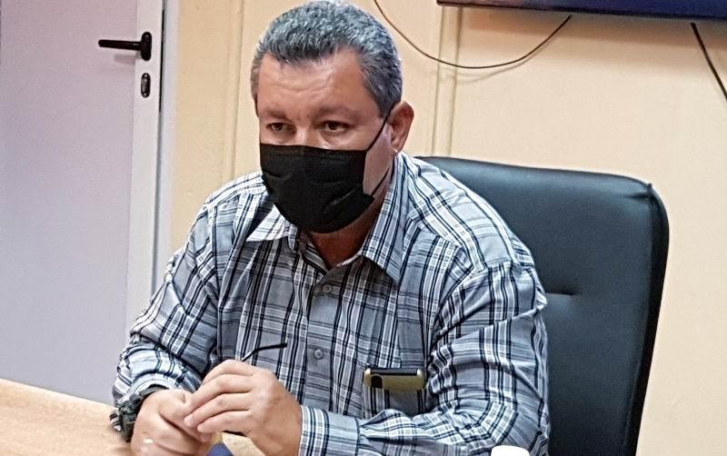 Presidente del Instituto Nacional de Recursos Hidráulicos (INRH), Ingeniero Antonio Rodríguez