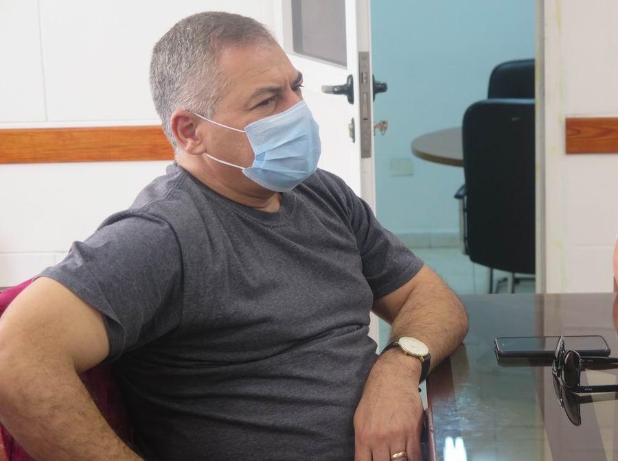 Vicepresidente Primero del INRH, Bladimir Matos Moya