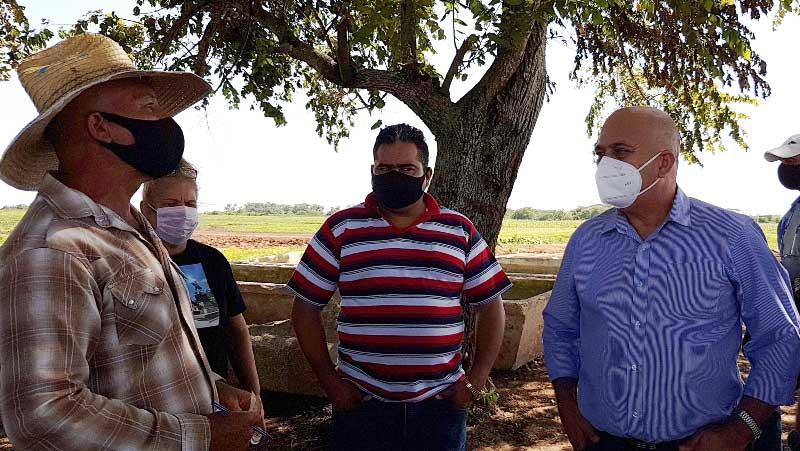Ratifica en Camagüey Morales Ojeda prioridad de la producción de alimentos (+Audio)
