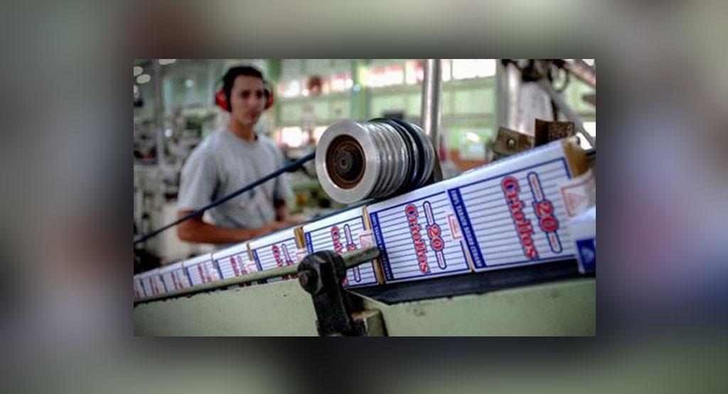 Significativa reducción en la producción de cigarros obliga a su venta regulada