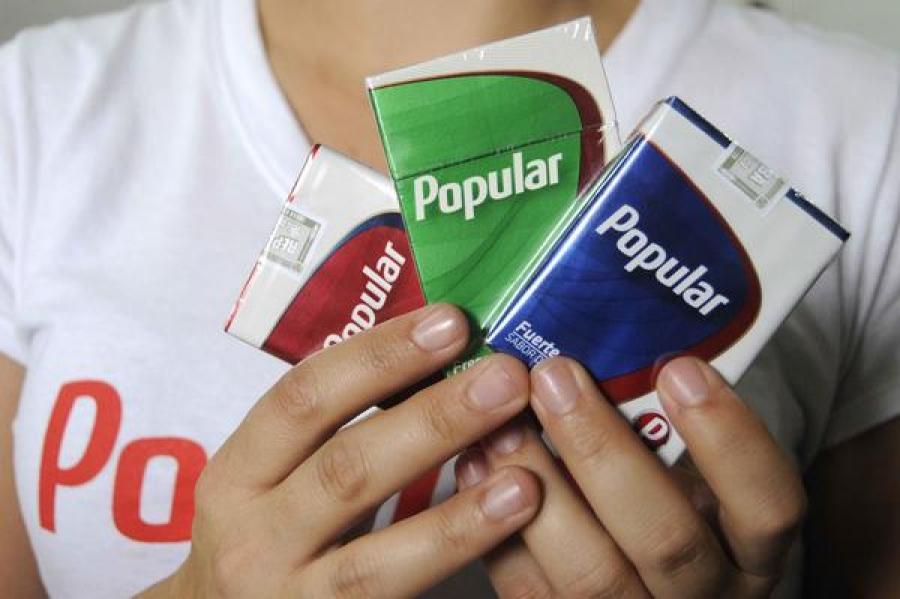 Bajos niveles en la producción de cigarros impactan en su venta en la red minorista