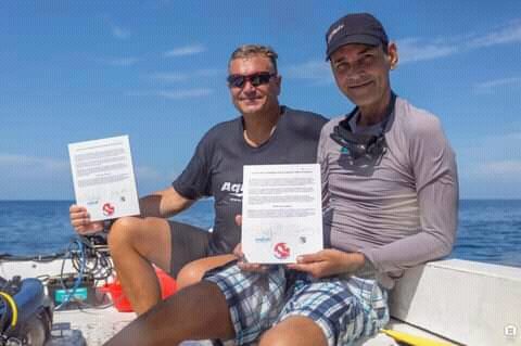 Firma contrato Centro de Buceo cienfueguero con Canadá (+Audio)