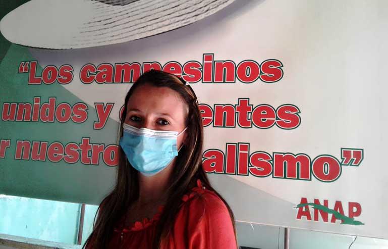 """Delia Rosa: """"Al Congreso llevamos el compromiso de los campesinos cienfuegueros"""""""