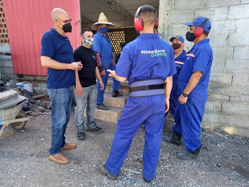 Ecomadera Cubana con productos novedosos para el sector de la construcción (+Audio)