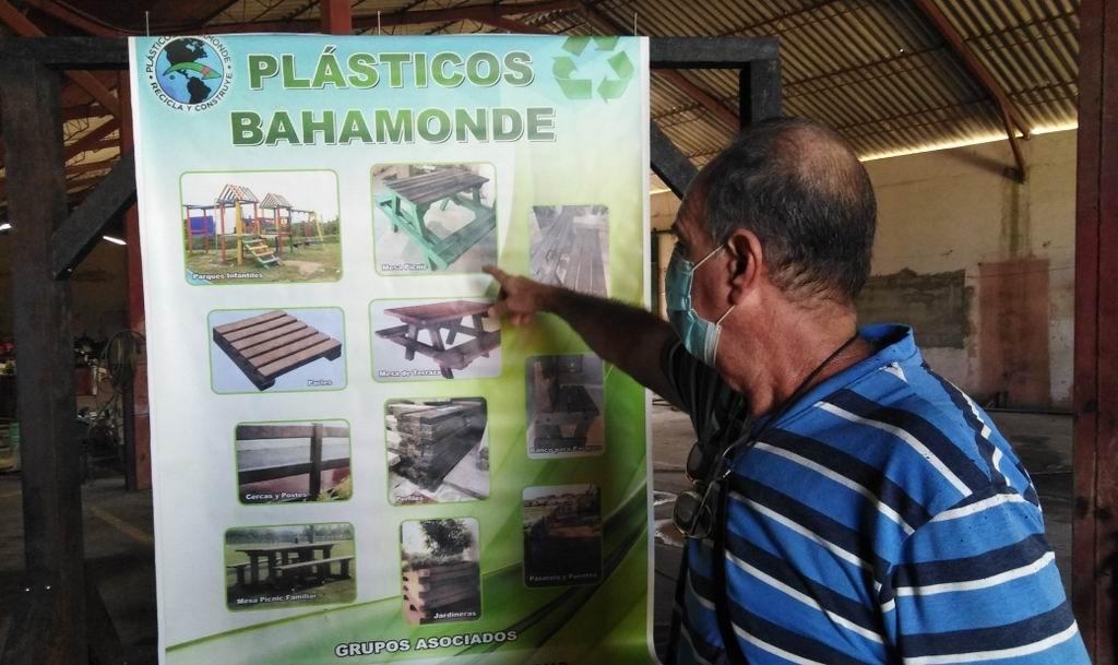 Plástico Bahamonde mejora el medio ambiente y sustituye importaciones (+Audio)
