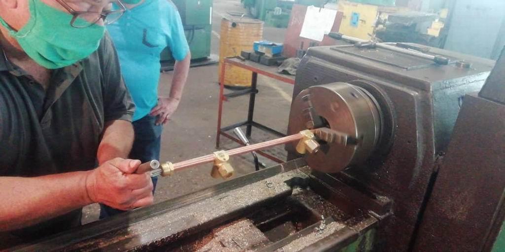 Aporta industria mecánica al enfrentamiento de la Covid-19 en Cuba