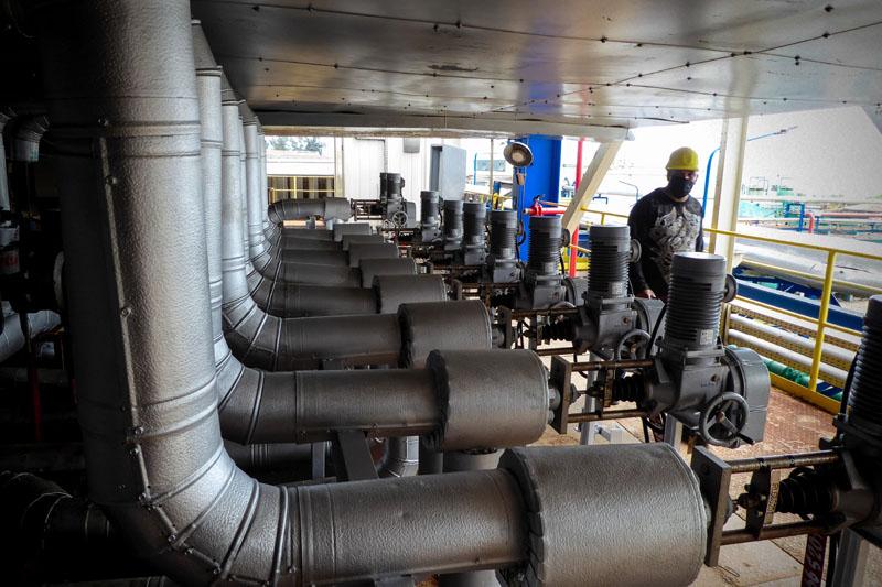 Entrega bloque uno de Felton generación estable al sistema eléctrico nacional